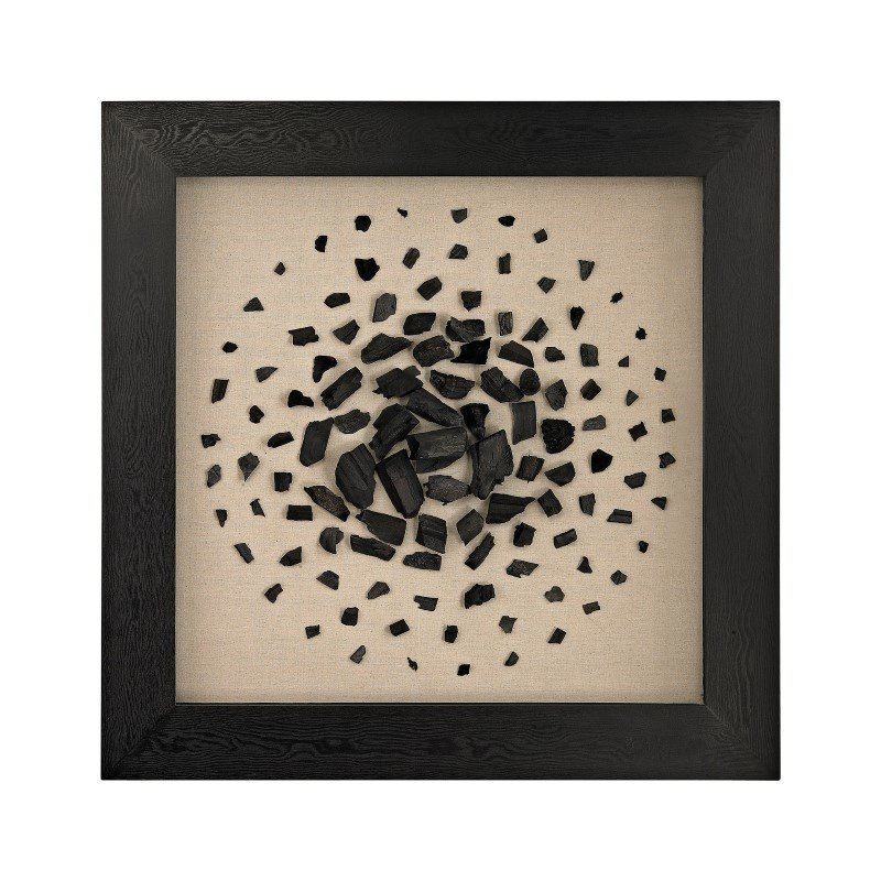 Dimond Home Black And White Carbon Shadow Box (3168-025)