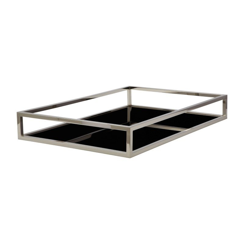 Dimond Home Black Box Rectangular Rod Tray (225065)