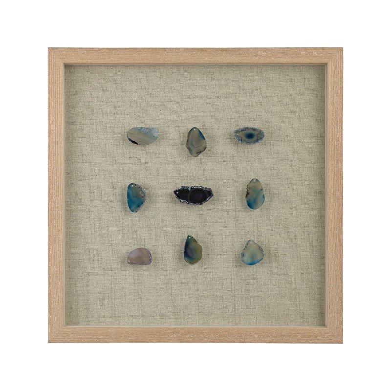 Dimond Home Blue Agate Shadow Box (3168-021)