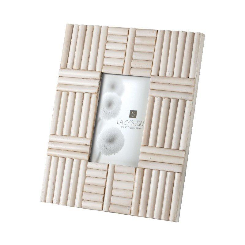 Dimond Home Bone Rod Pattern 5x7 Frame (344014)