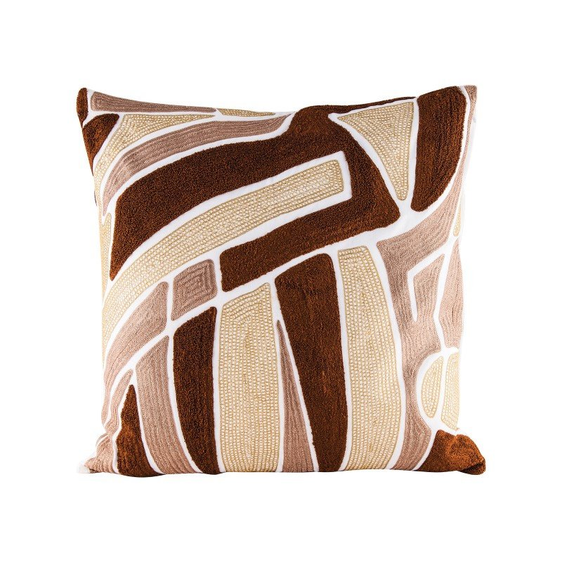 Dimond Home Brown Neutrals Pillow With Goose Down Insert (8906-008)