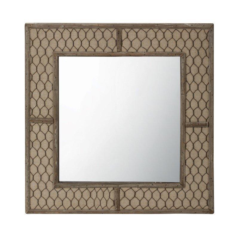 Dimond Home Canvas Wire Mirror (594036)