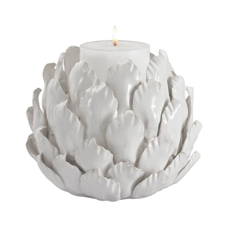 Dimond Home Ceramic Artichoke Candle Holder (9167-017)