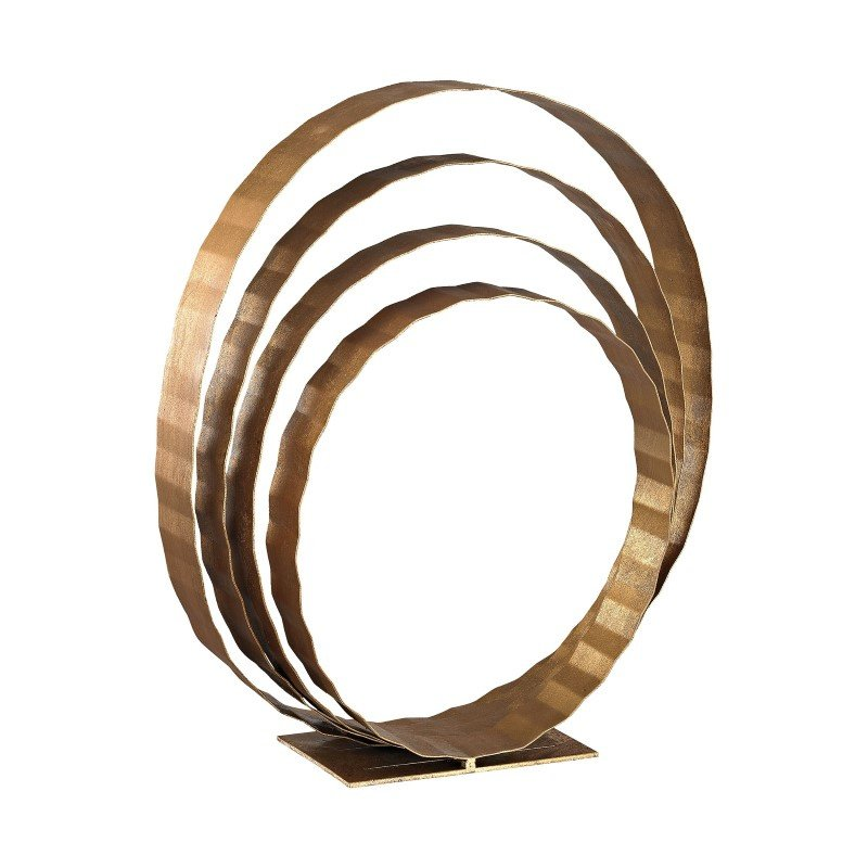 Dimond Home Concentric Rings Table Top Sculpture (1114-177)