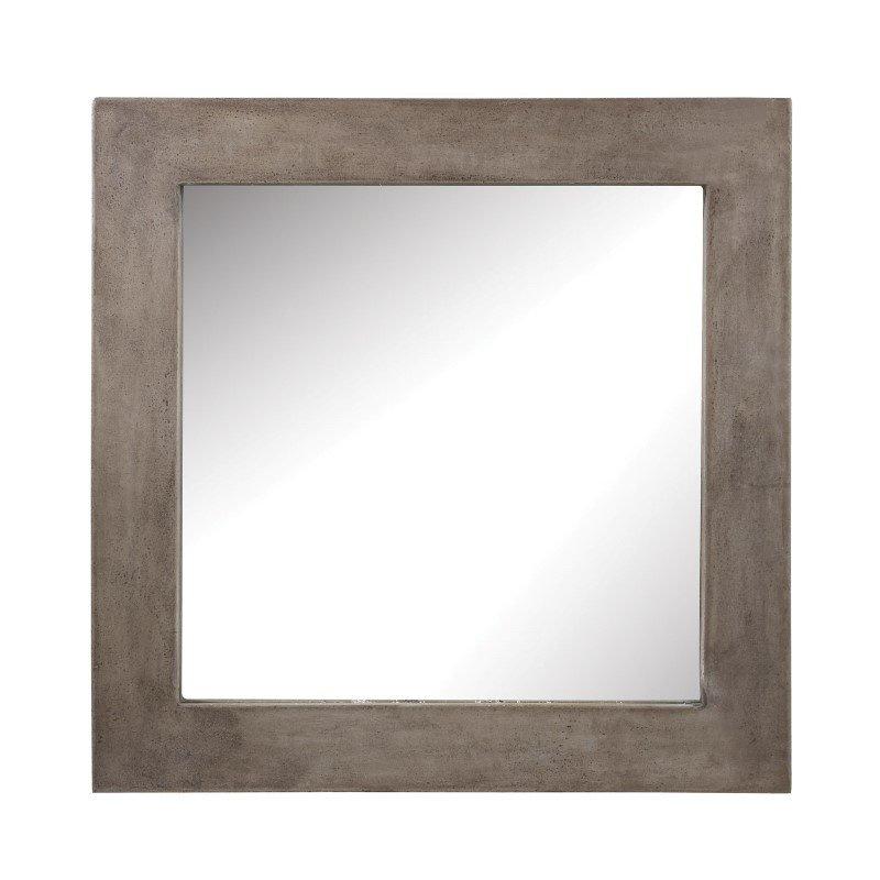 Dimond Home Cubo Cement Mirror (157-001)