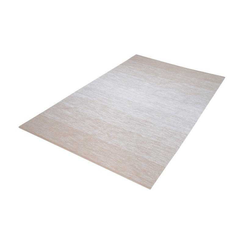 Dimond Home Delight Handmade Cotton Rug in Beige And White - 3ft x 5ft (8905-030)