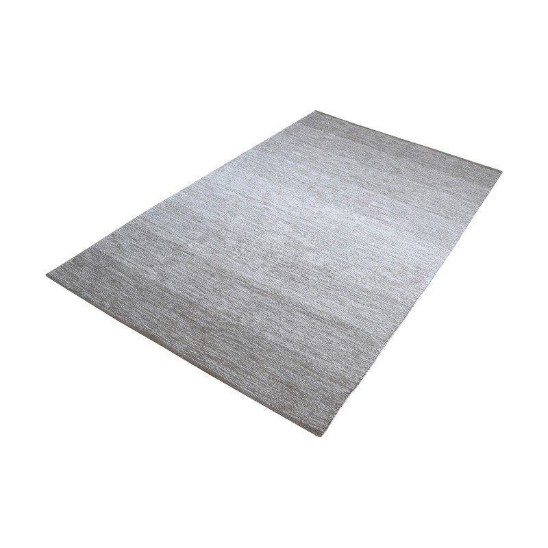 Dimond Home Delight Handmade Cotton Rug in Grey - 8ft x 10ft (8905-023)