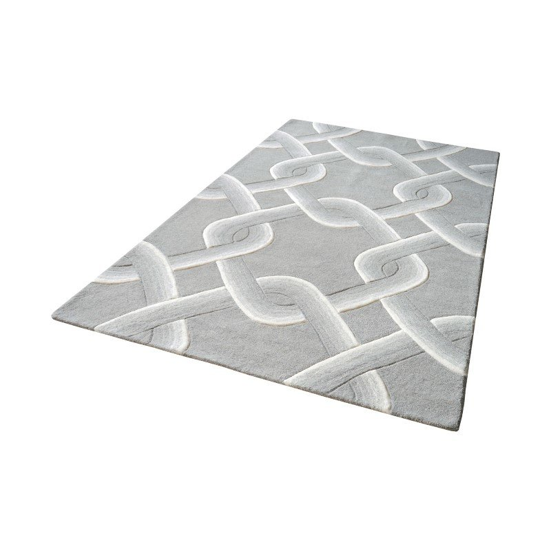 Dimond Home Desna Handtufted Wool Rug in Grey - 9ft x 12ft (8905-192)