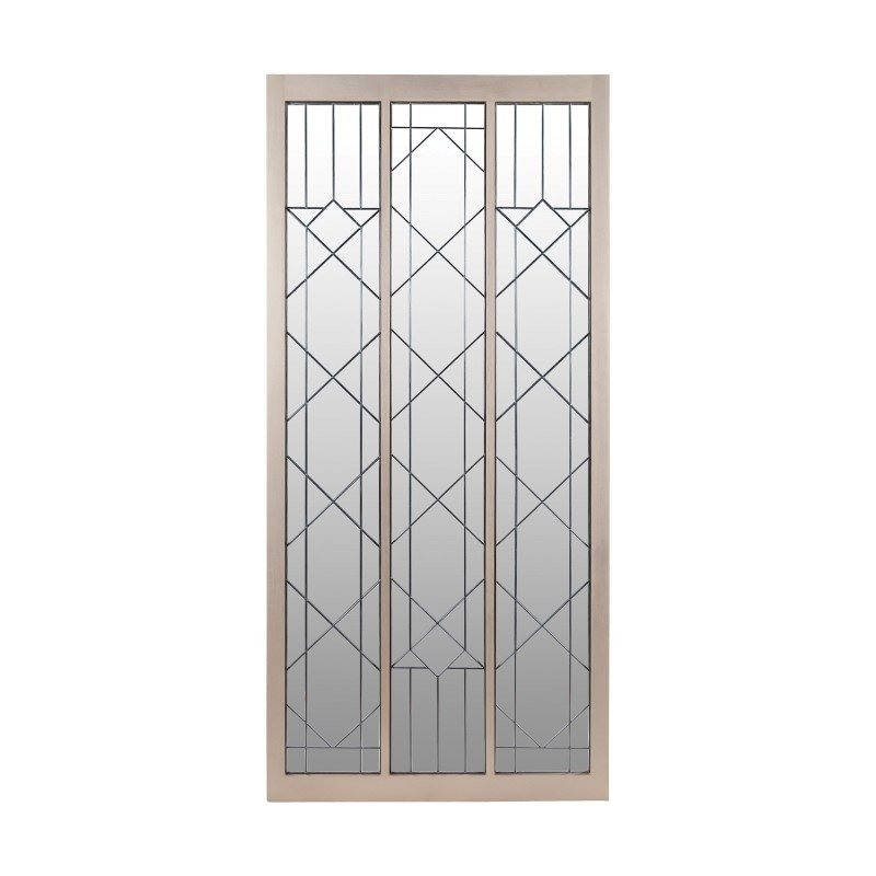 Dimond Home Empire State Floor Mirror with Leaded Glass (7011-030)