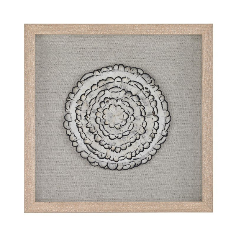 Dimond Home Feather Swirl Wall Decor (168-012)