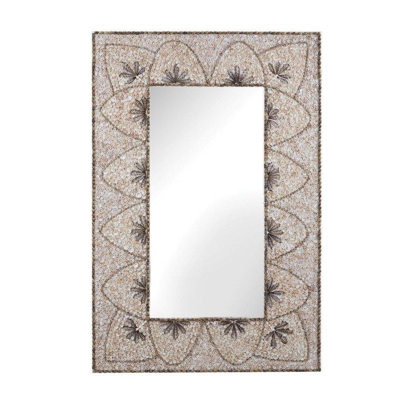 Dimond Home Flower Arc Shell Mirror (163-005)