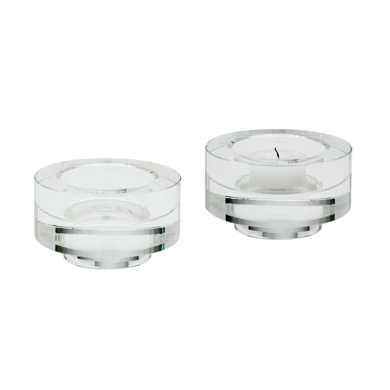 Dimond Home Fluted Crystal Votive (Set of 2) (980008/S2)