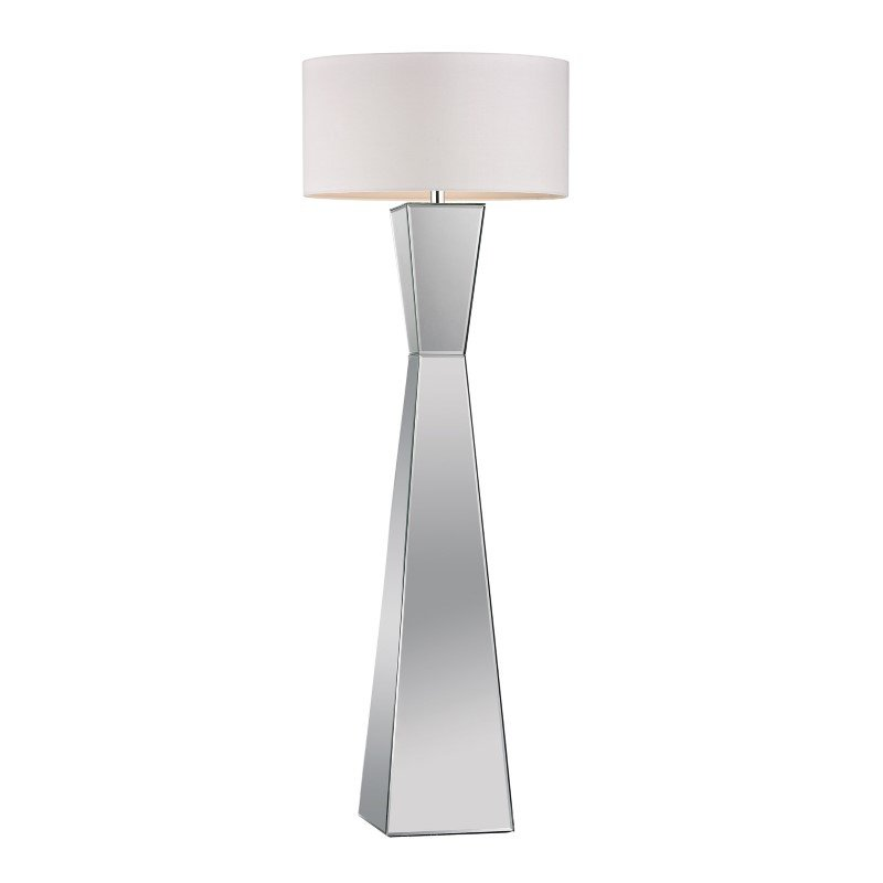 Dimond Home Free Standing Mirrored Floor Lamp (173-011)