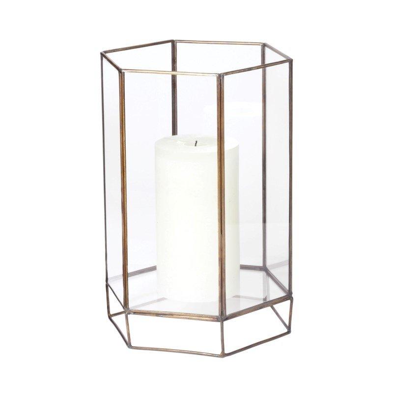 Dimond Home Glass Oriel Hurricane - Small (784052)