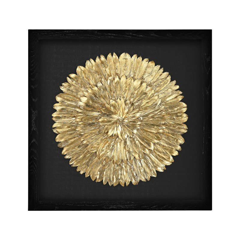 Dimond Home Gold Feather Spiral (3168-019)
