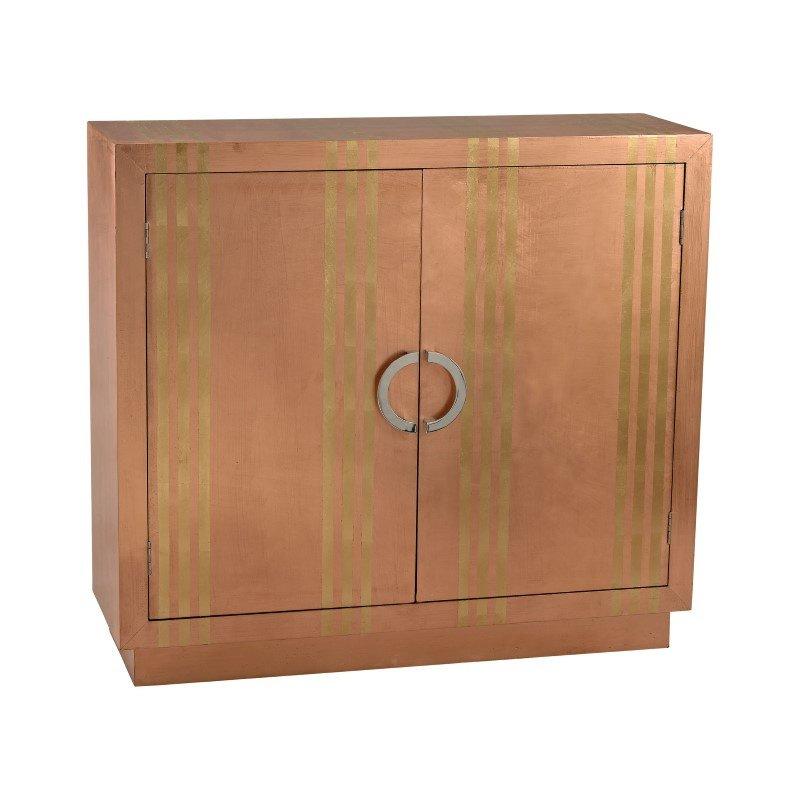 Dimond Home Gold Stripe Copper Cabinet (3100-009)