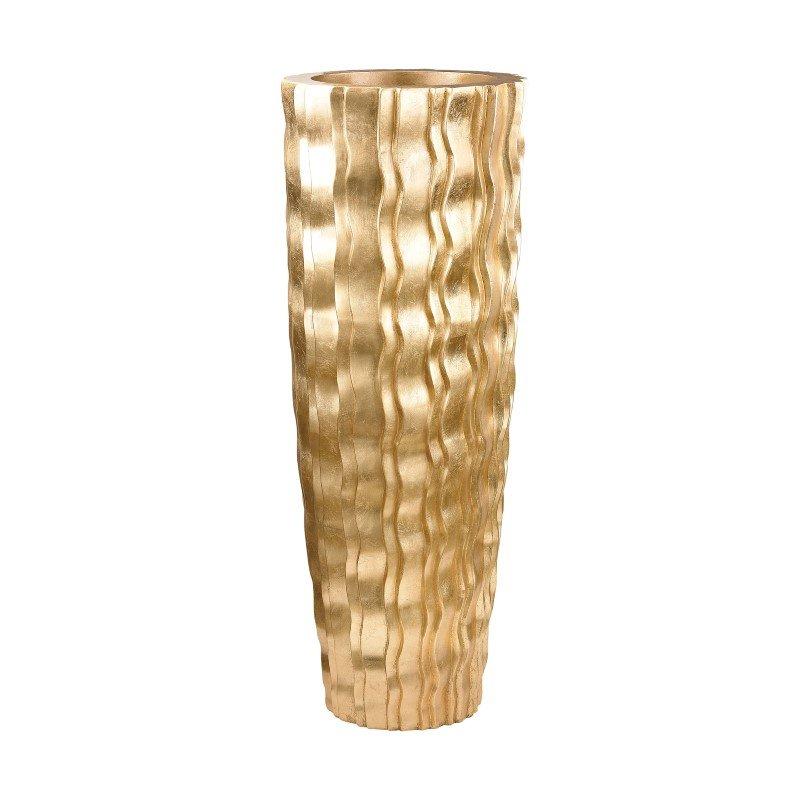 Dimond Home Gold Wave Vessel - Large (9166-032)