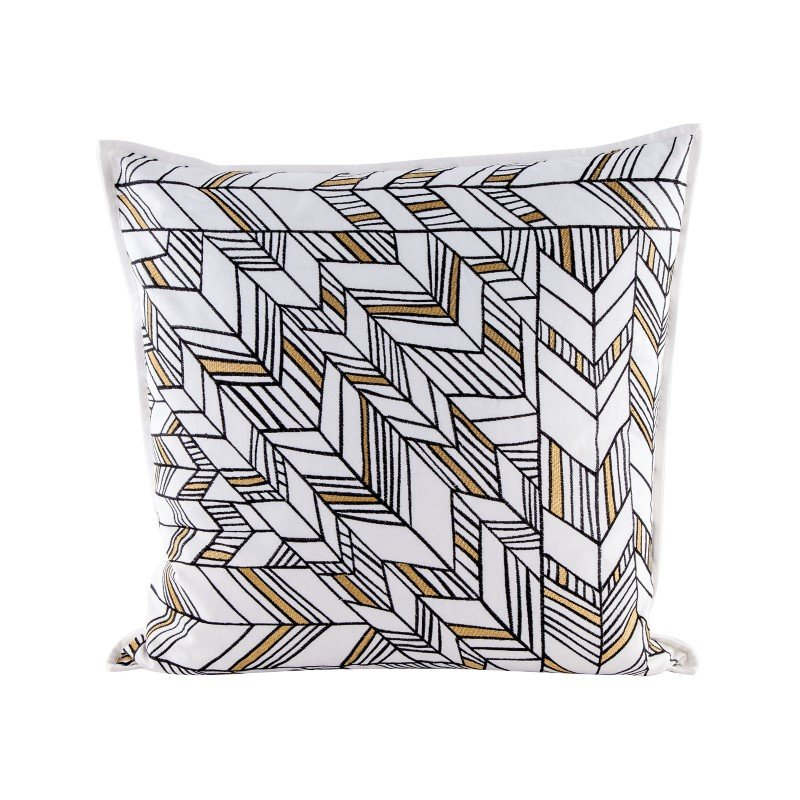 Dimond Home Golden Arrows pillow With Goose Down Insert (8906-003)