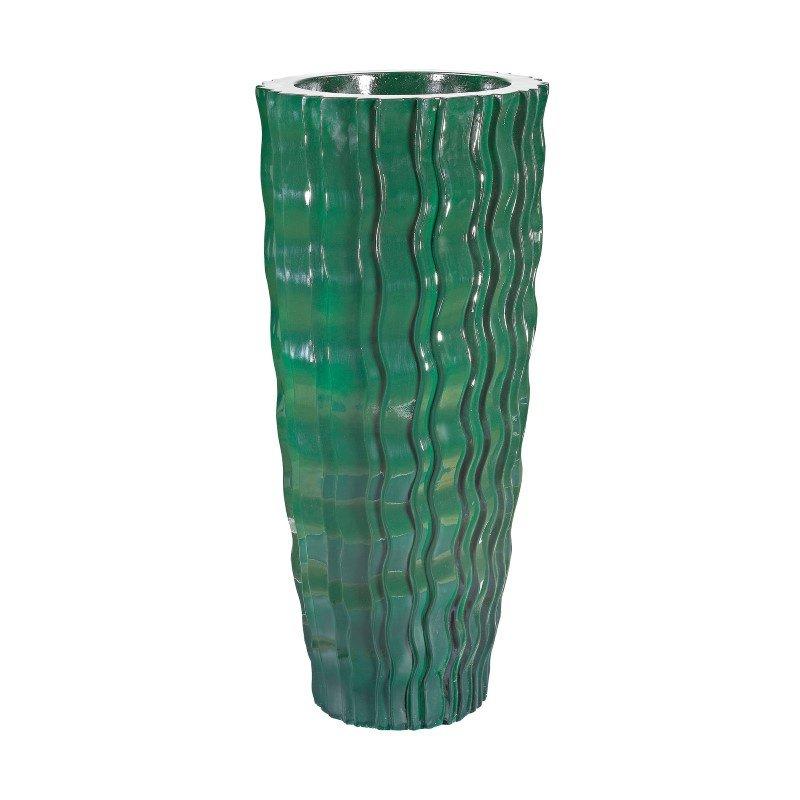 Dimond Home Green Wave Vessel - Small (9166-034)