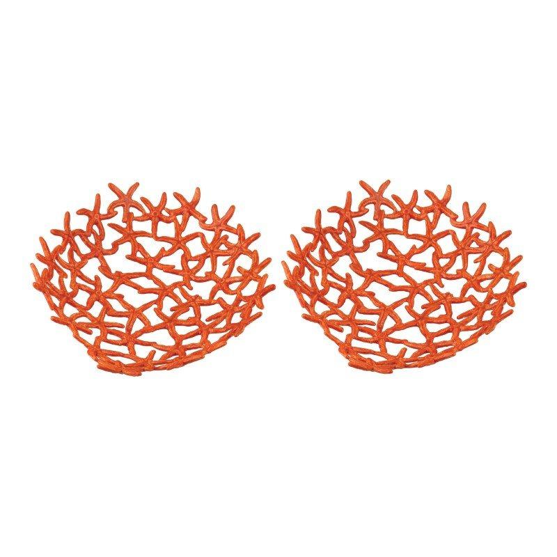 Dimond Home Hand Forged Orange Starfish Bowl (165-008/S2)