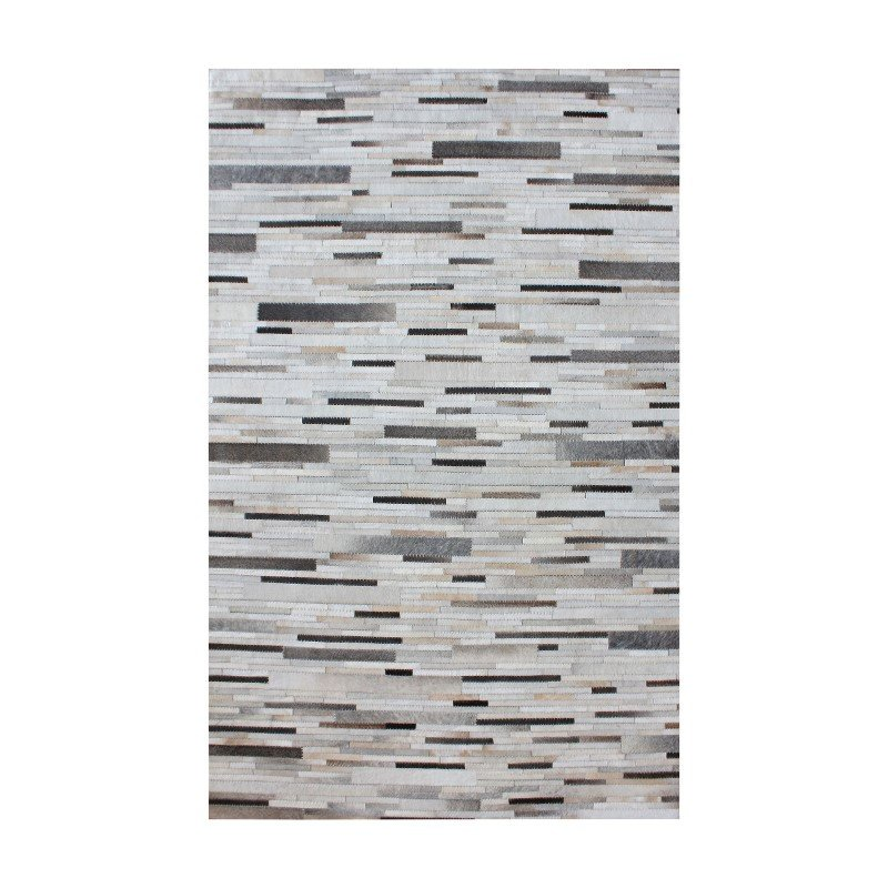 Dimond Home Joico Hand Stitched Leather Patchwork Rug 96x120 (8905-372)