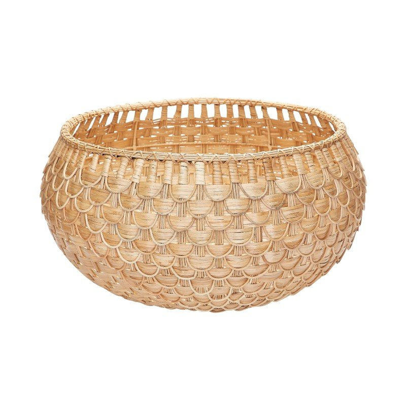 Dimond Home Large Natural Fish Scale Basket (466047)