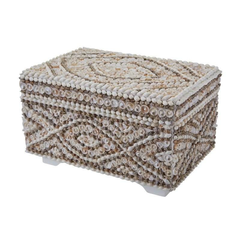 Dimond Home Large Shell Box (163-016)