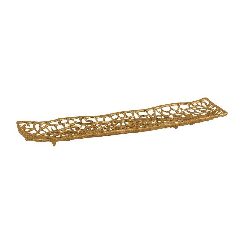 Dimond Home Leaf Veins Centerpiece Platter (8987-028)