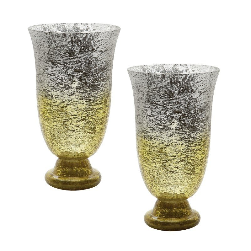 Dimond Home Lemon Ombre Flared Vase (Set of 2) (876023/S2)