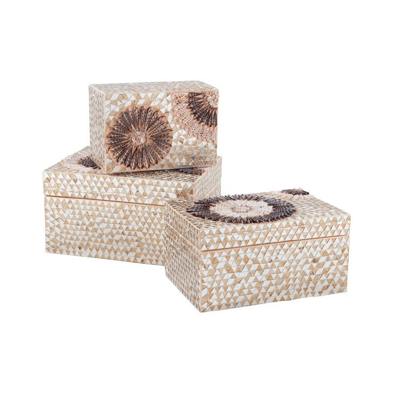 Dimond Home Medium Capiz Shell Urchin Box (7163-036)