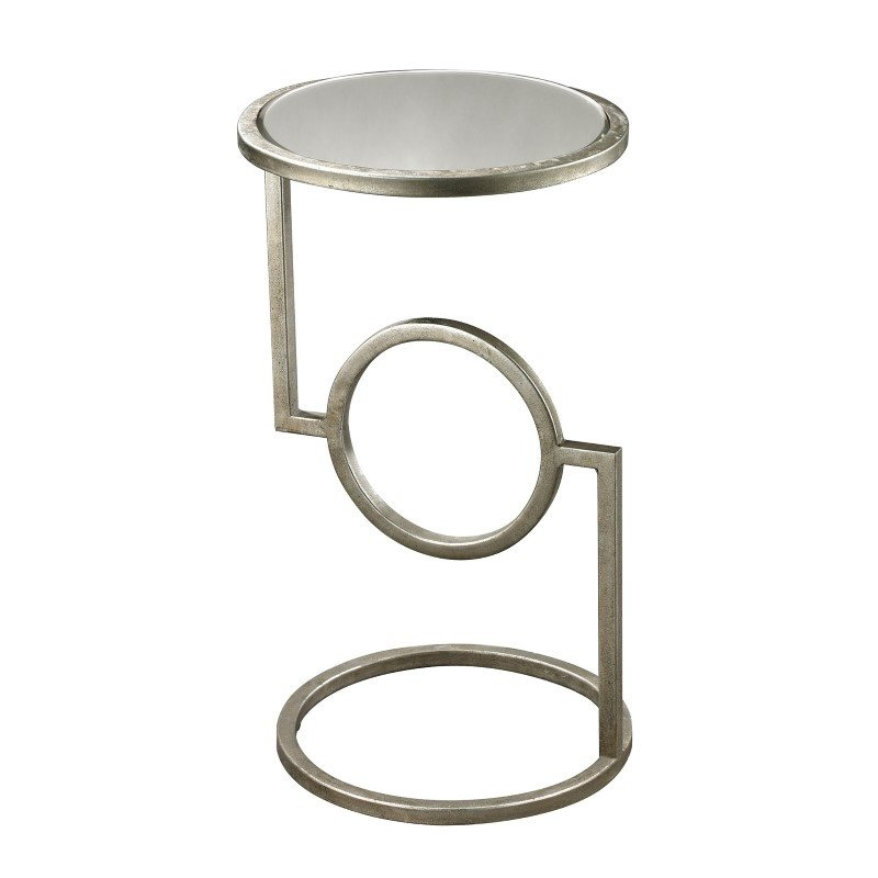 Dimond Home Mirrored Top Hurricane Side Table (114-107)
