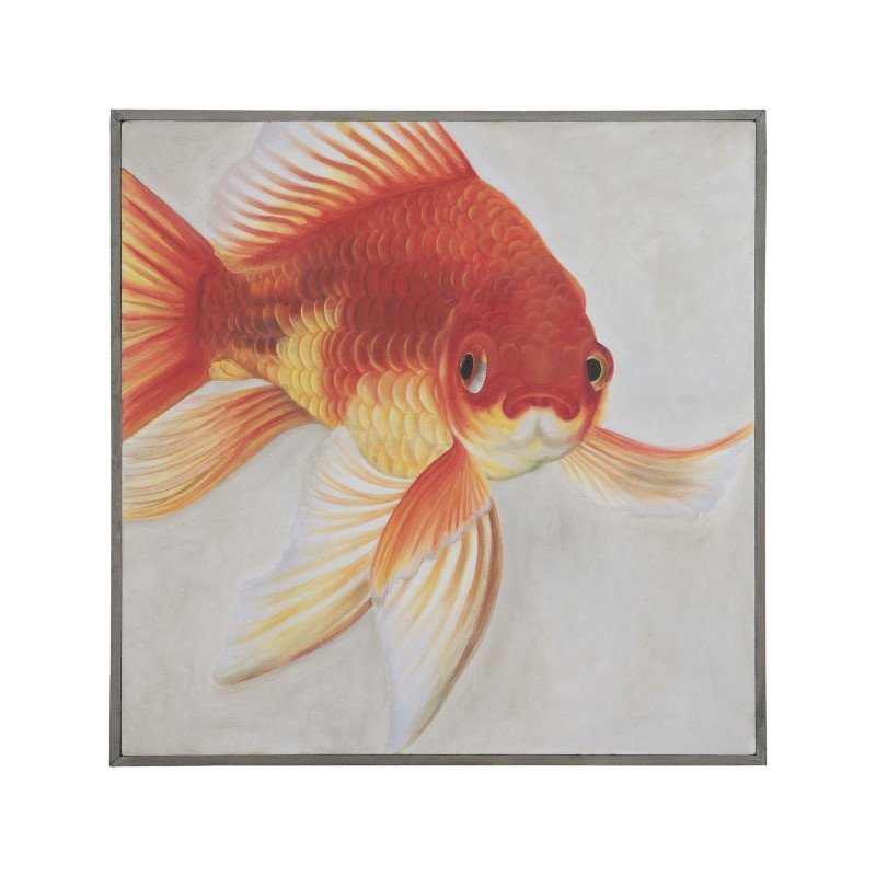 """Dimond Home Mr. Bubbles 36"""" Wall Decor with Solid Mahogany Frame (7011-376)"""