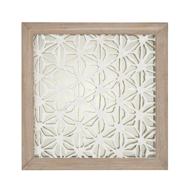 Dimond Home Natural Fibers-On-Foil Wall Decor (168-004)