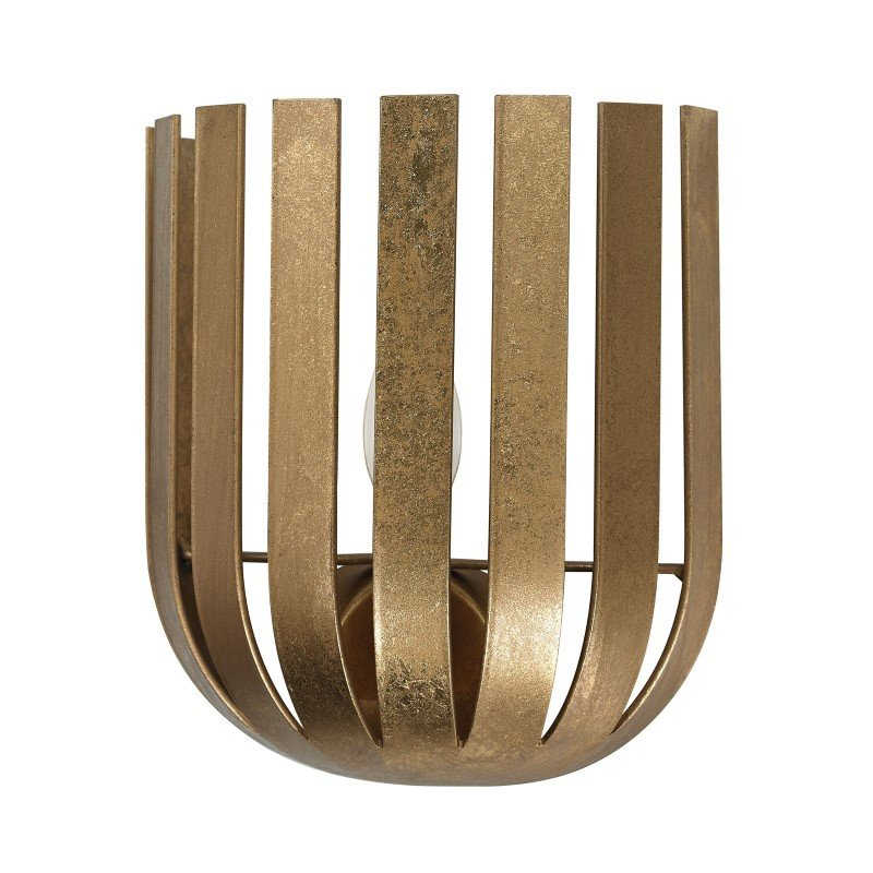 Dimond Home Olympia Wall Sconce in Gold Leaf (114-140)