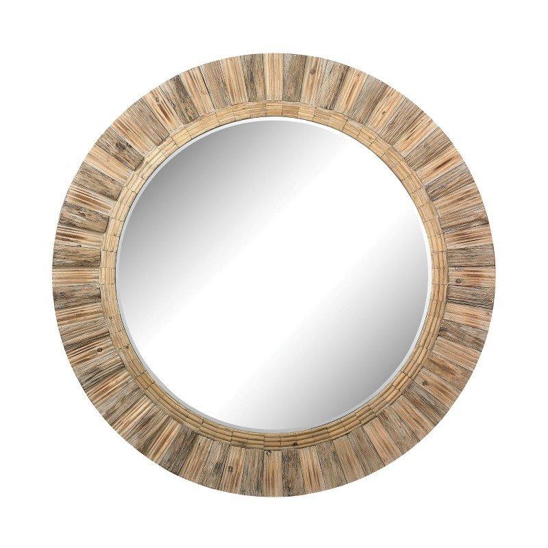 Dimond Home Oversized Round Wood Mirror (51-10163)