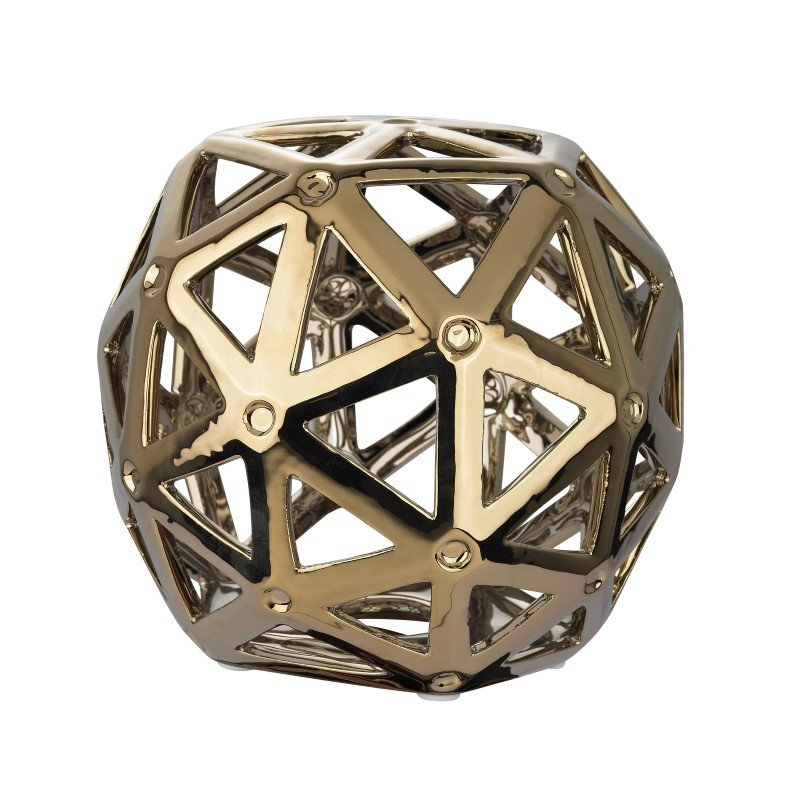 Dimond Home Perforated Multi-Hexagonal Stand (167-011)