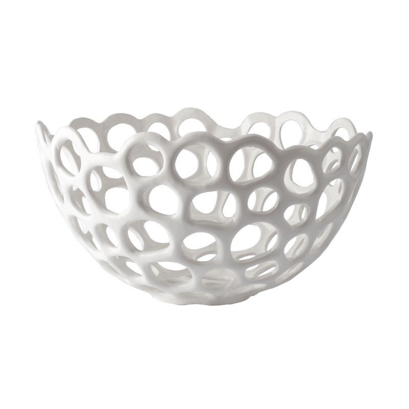 Dimond Home Perforated Porcelain Dish - Large (724022)
