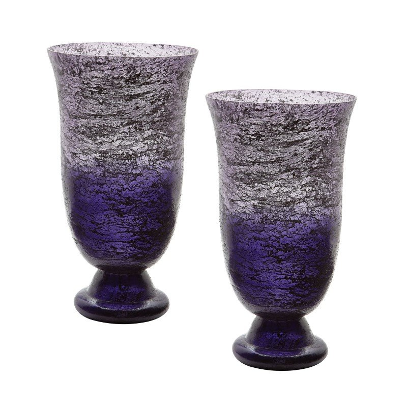 Dimond Home Plum Ombre Flared Vase (Set of 2) (876024/S2)