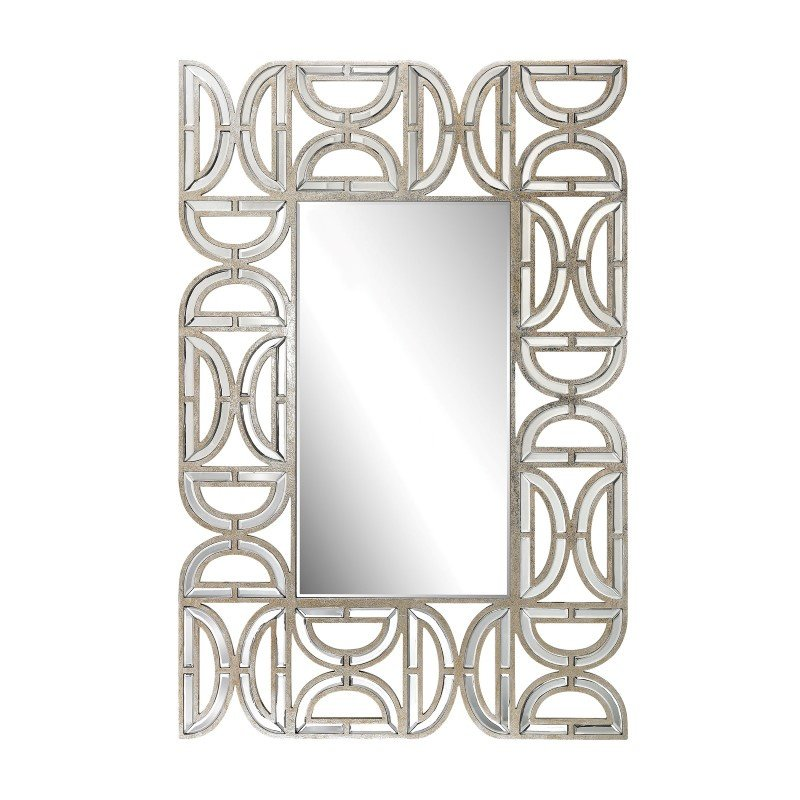 Dimond Home Rectangular Wall Mirror with D-Pattern Frame (173-008)