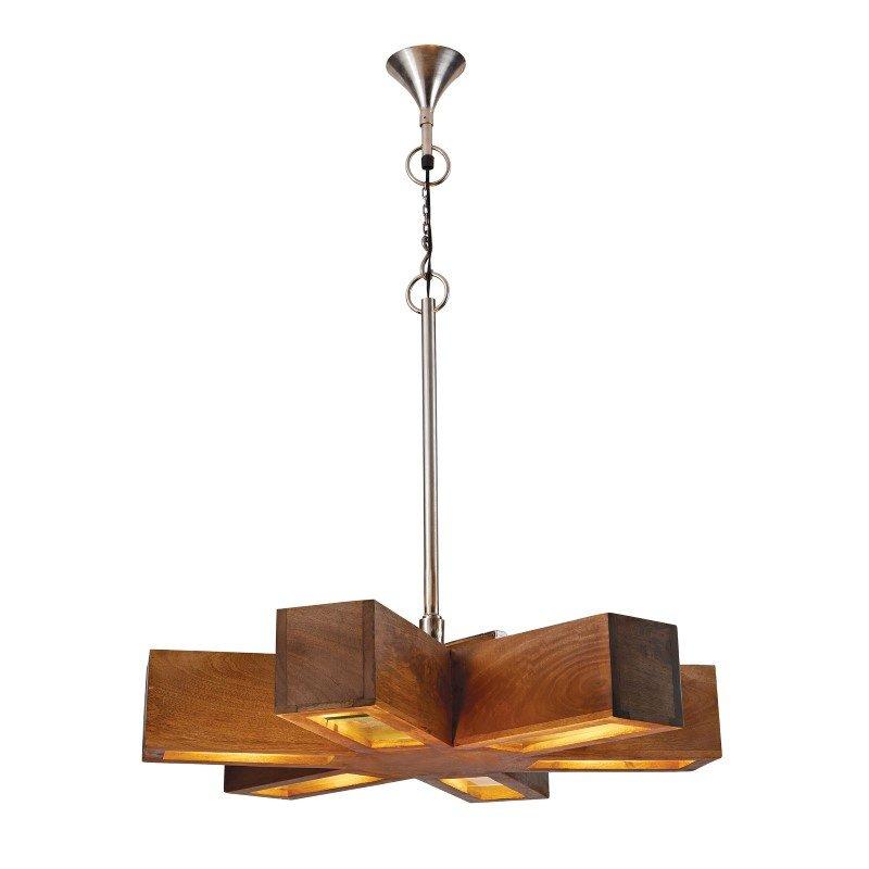 Dimond Home Retro 6-Light Spoke Pendant (985-023)