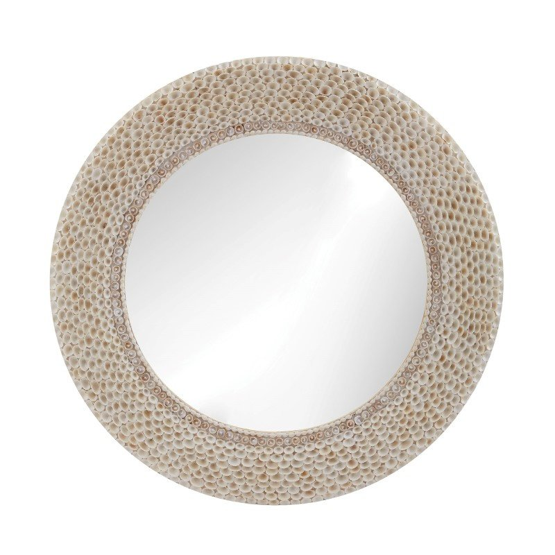 Dimond Home Ribbed Ring Shell Mirror (163-007)