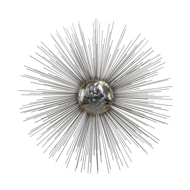 Dimond Home Silver Sun Metal Wall Decor (153-007)