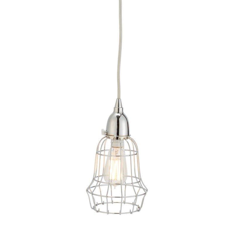 Dimond Home Silver Wire 1 Light Barrel Pendant (225040)
