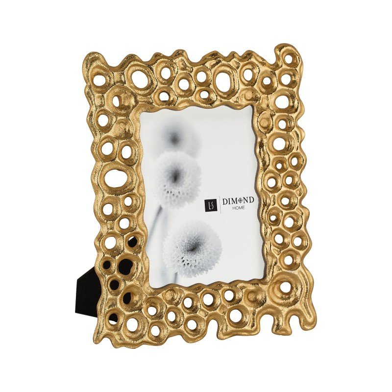 Dimond Home Small Gold Rush Frame 4x6 (8987-010)