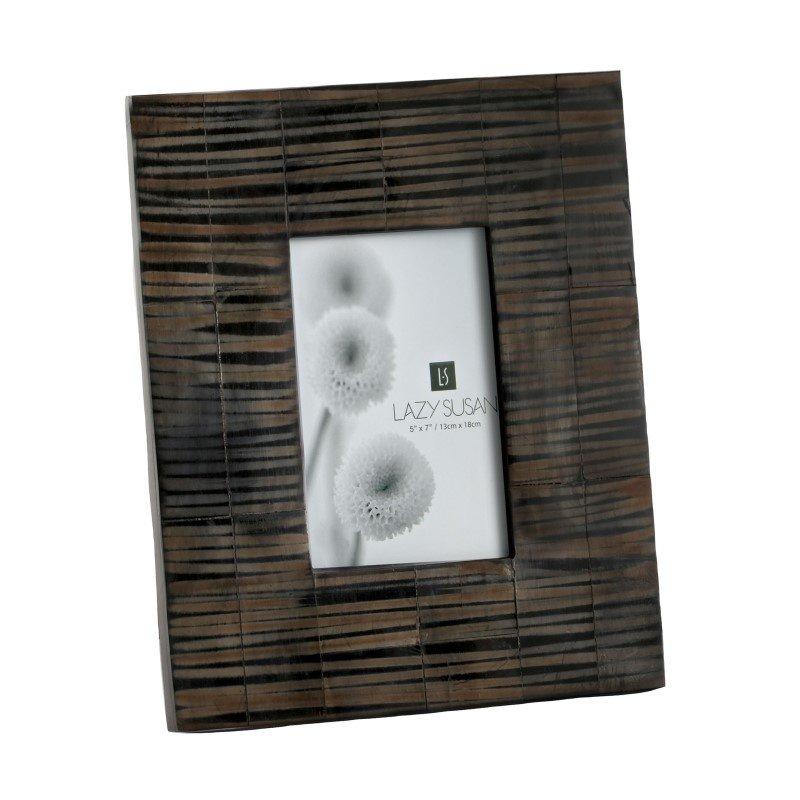Dimond Home Striped Horn 5x7 Frame (344010)