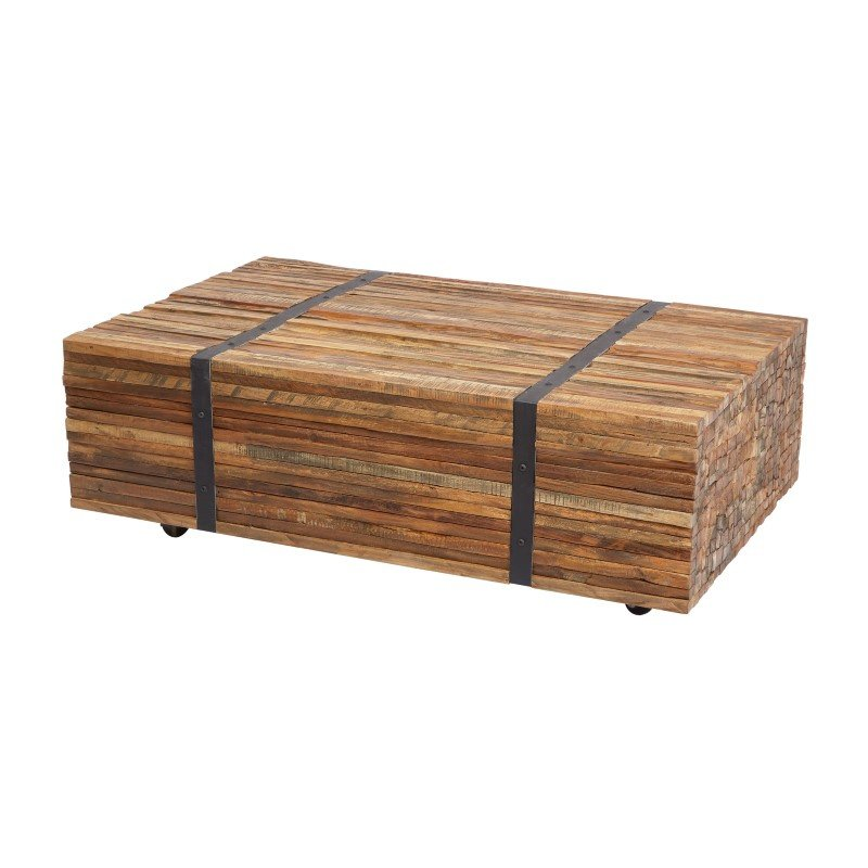 Dimond Home Teak Strapped Coffee Table (162-025)