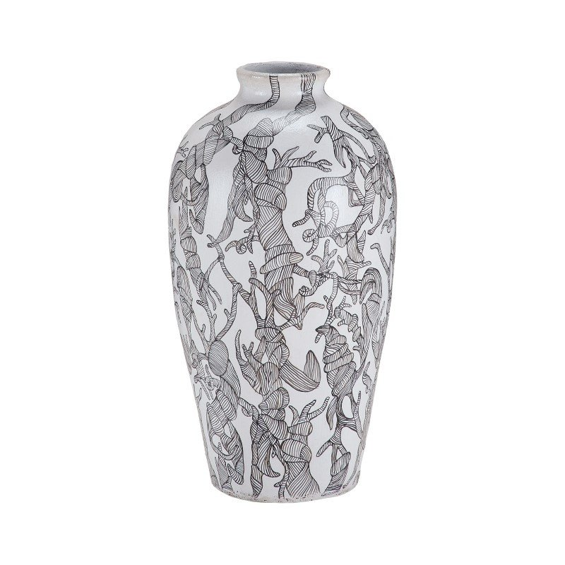 Dimond Home Thicket Hand Painted Vase (7011-090)