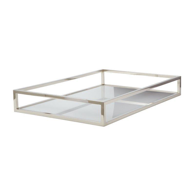 Dimond Home White Box Rectangular Rod Tray (225067)