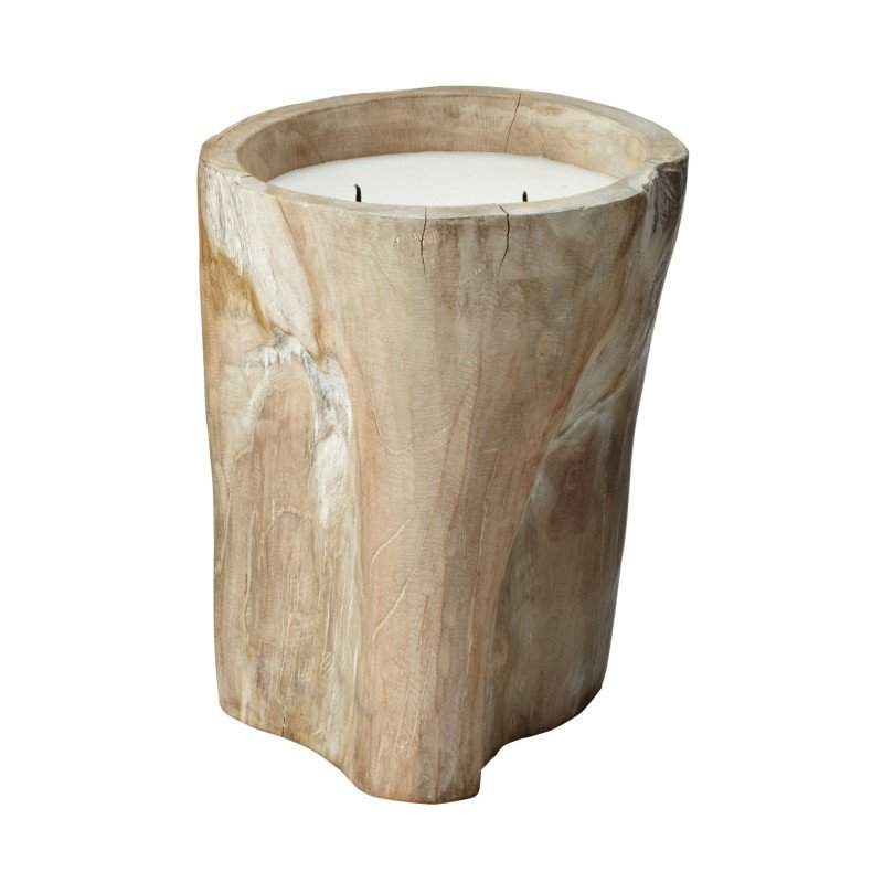 Dimond Home White Pepper Log Candle - Large (784043)