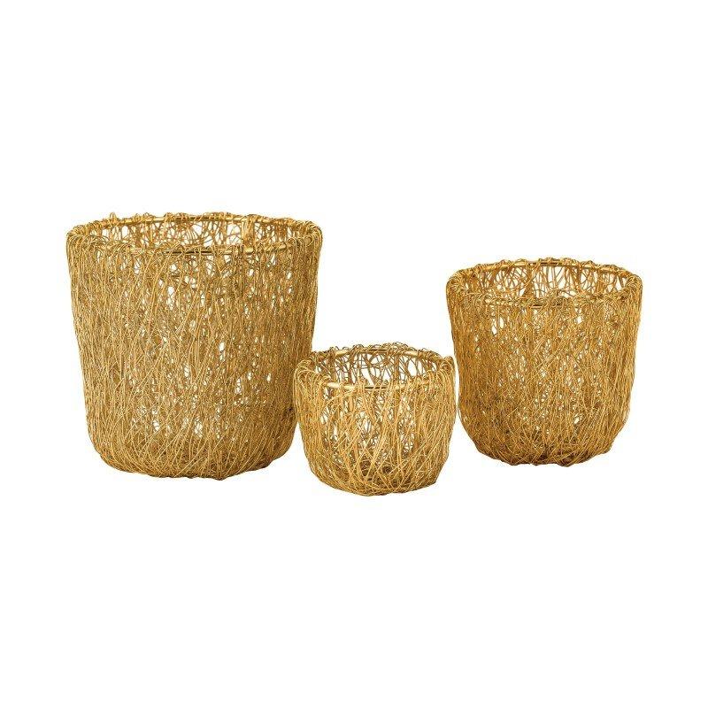 Dimond Home Wild Woven Wire Bowl (8990-022/S3)